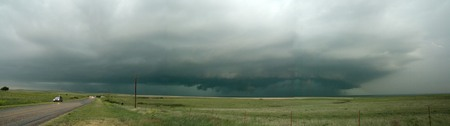 Panorama of the HP supercell